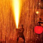 豊橋祇園祭2017の花火の日程は?火の雨が降る手筒花火は必見!