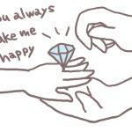 婚約指輪のお返しの相場はいくらぐらい?どんなものが人気?