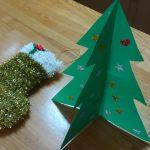 クリスマスの工作、幼児でも簡単に作れる3選!実際に娘と作ってみた